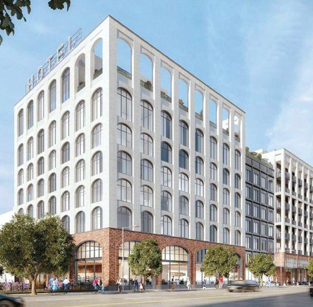 미드윌셔에 호텔·콘도 복합 건물…객실 125개·콘도 121세대